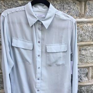 Equipment silk shirt XS